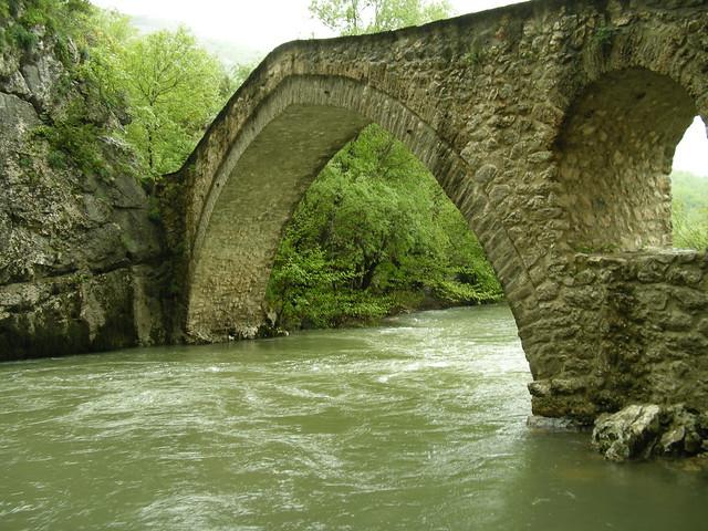 The bridge of Portitsa !!