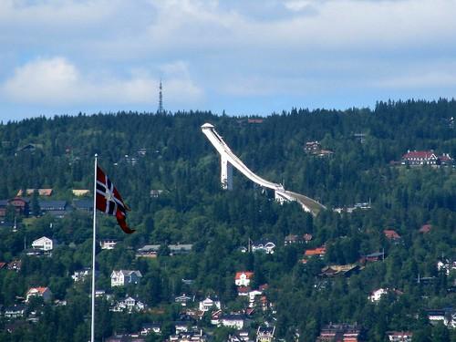 Olympic ski jump, Oslo