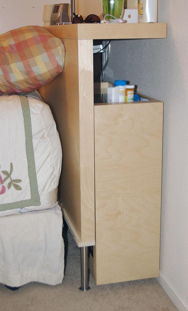 Ikea malm headboard hack this is one of my ikea hacks i for Rollaway bed ikea