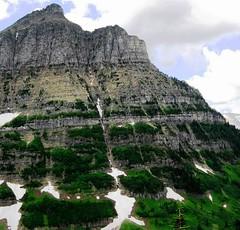 Glacier Rocky Wall, Glacier National Park, Montana's Best