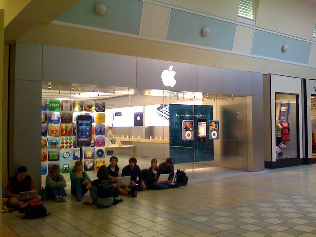Maine Mall Apple Store Flickr Photo Sharing