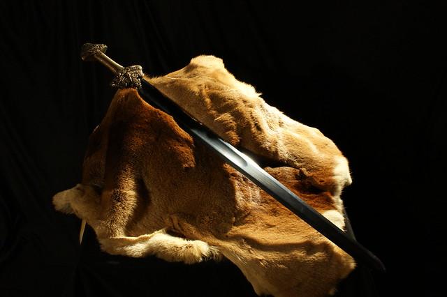 Sword laying