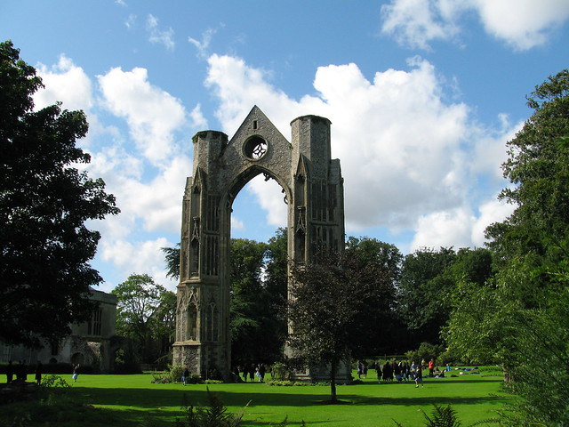 Ruined abbey, Walsingham