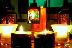 CANDLES FOR THE BELOVED ONES..