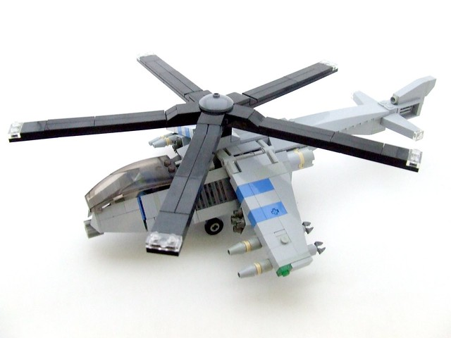 how to build a lego army helicopter