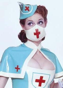 Latex nurse pics