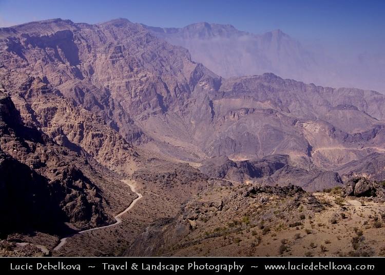 Oman - Off road through Al Hajar Mountains