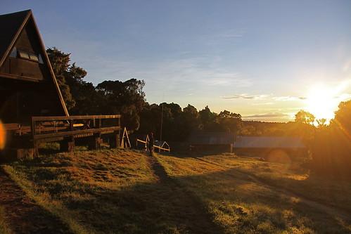 africa morning mountain kilimanjaro sunrise trek canon tanzania dawn huts lensflare mandara 50d