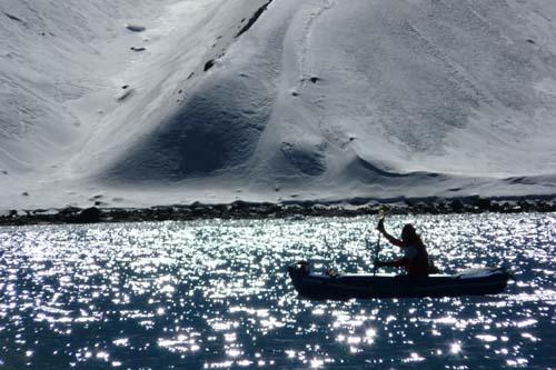 Eric Lon Kayaking at Himalayan altitude lakes