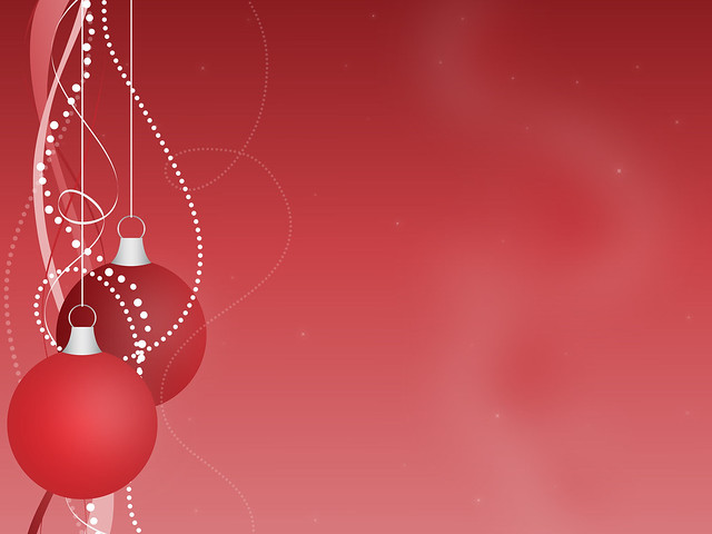 red christmas ornaments background flickr photo sharing