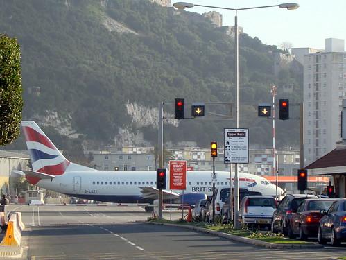 Runway Level Crossing