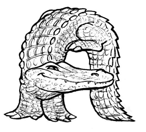Search results for small alligator coloring calendar 2015 for Alligator gar coloring page