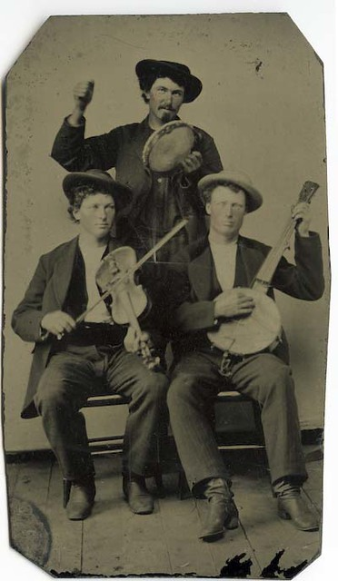 Occupational Tintype - Musicians