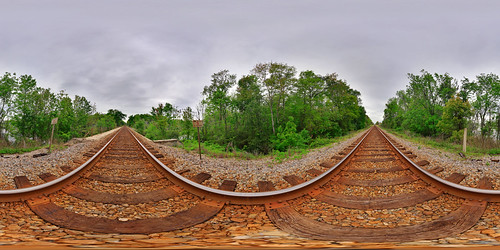 railroad travel panorama florida traintracks immersive railways hdr 360x180 360° csx sigma1020mm hugin equirectangular perfectpanoramas enfuse