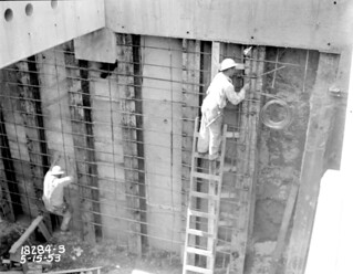Battery Street Tunnel under construction, 1953