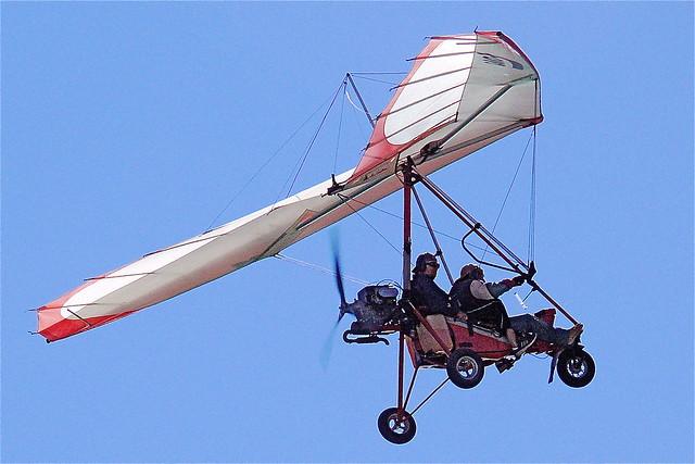 Powered glider