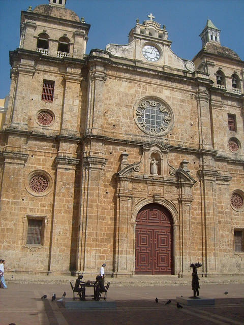 Cartagena Colombia Church UNESCO World Heritage