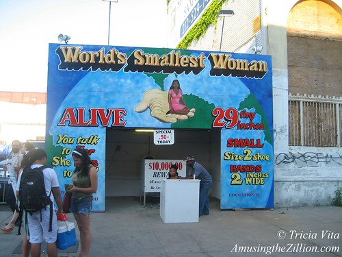Coney Island, World's Smallest Woman (2008)