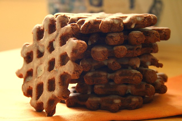 chocolate waffle cookies | Flickr - Photo Sharing!