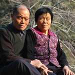 Older Chinese Couple - Beijing, China