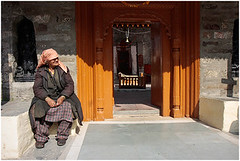 at the shrine, sarahan
