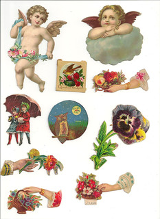 Victorian Collage Sheet