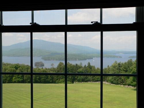 travel summer lake window maine 2008 greenville moosehead