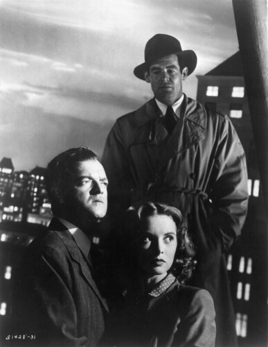 Robert Ryan, Van Heflin and Janet Leigh - Act of Violence 1948