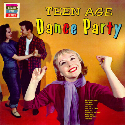 Teen Age Dance Party album cover