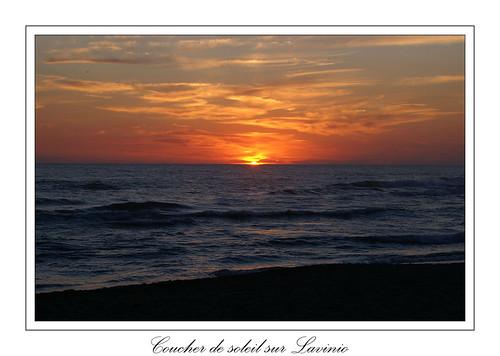 Coucher de soleil sur Lavinio 3 by CpaKmoi