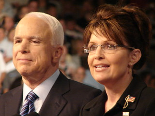 John McCain and Sarah Palin  – Dayton,Ohio 8/29/08