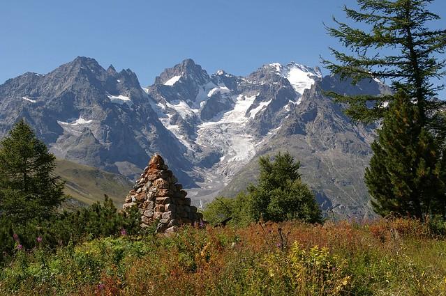 Col du Lautaret - glacier