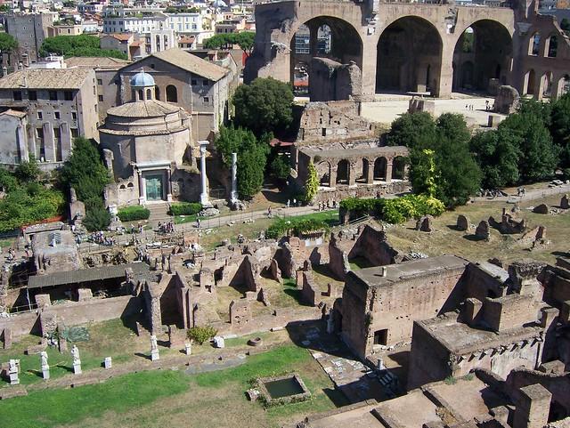 163 - Palatino y Foro Romano