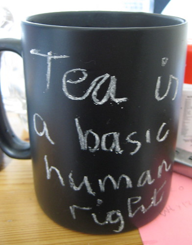 Tea is a basic human right