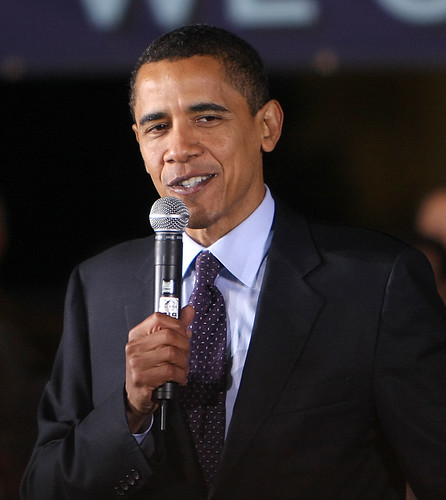 the 44th President of the United States...Barack Obama