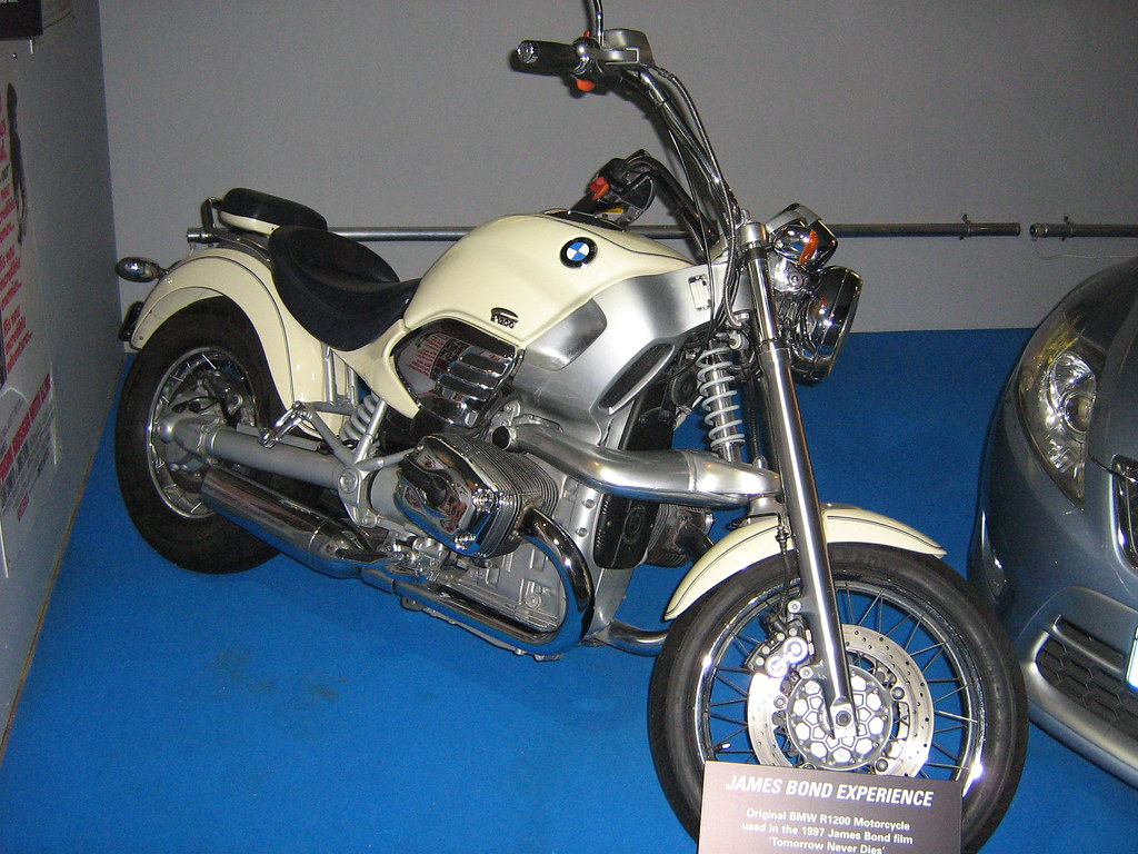 1997 Bmw R1200 Motorcycle James Bond A Photo On