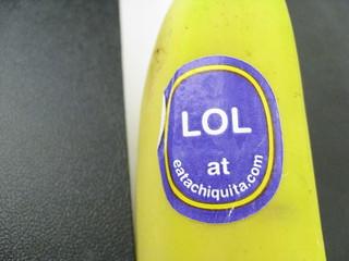 my banana laughs
