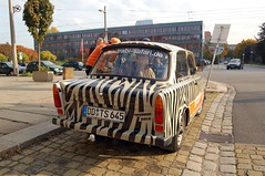 Back of the Trabant