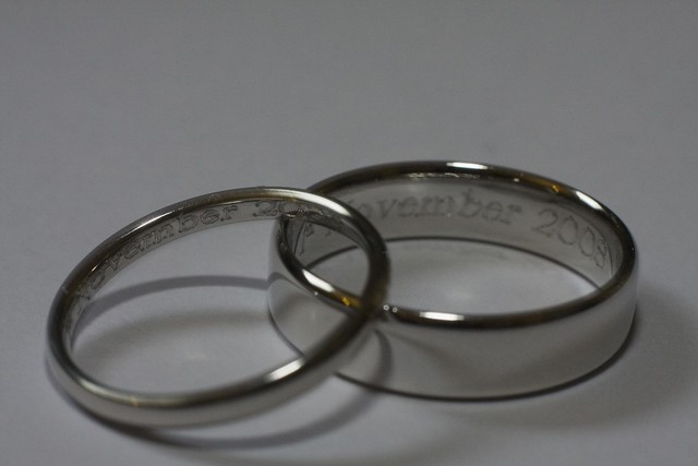 Engraved Wedding Bands by Anthony Carr