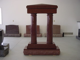 India Red Column Monument