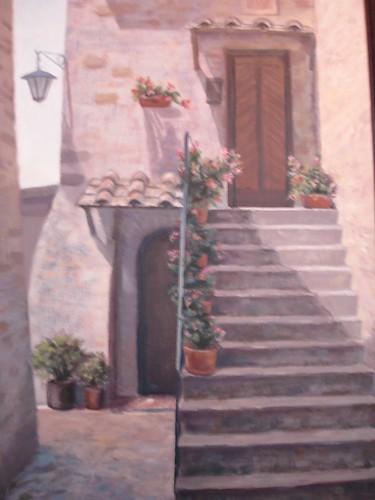 Doors at Castel Vieto