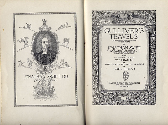 the element of extremes in gullivers travels by jonathan swift Gulliver's travels gulliver's travels, or travels into several remote nations of the world in four parts by lemuel gulliver, first a surgeon, and then a captain of several ships (which is the full title), is a prose satire[1][2] by irish writer and clergyman jonathan swift, that is both a satire on human nature and the travellers' tales literary subgenre.