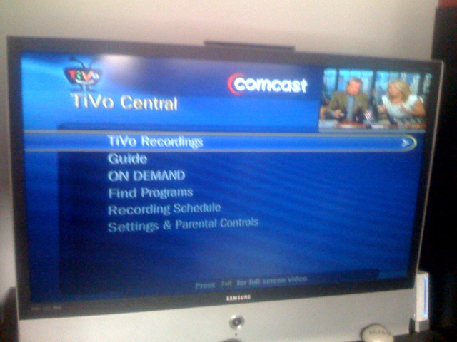 Comcast channel 578