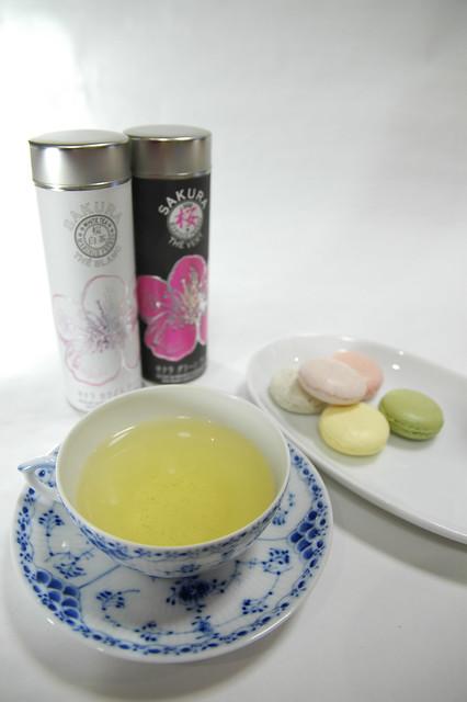 Photo:Sakura 2008 White & Green Tea, Mariage Frères, Shinjuku By yuichi.sakuraba