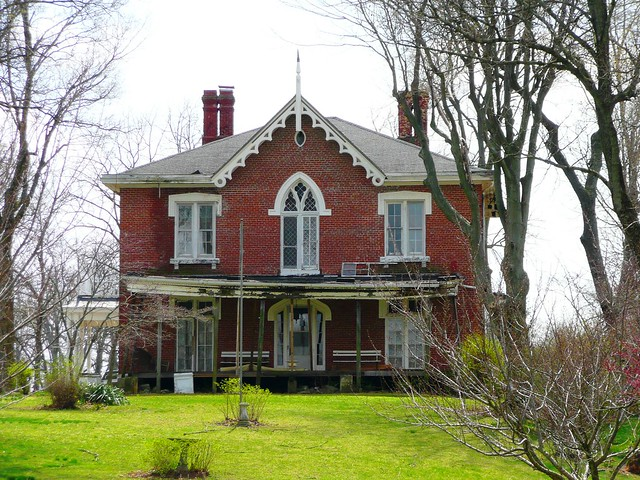 Williamsport in gothic revival house flickr photo for Gothic revival house
