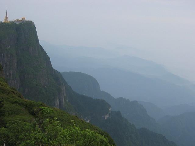 Monte Emei. China.