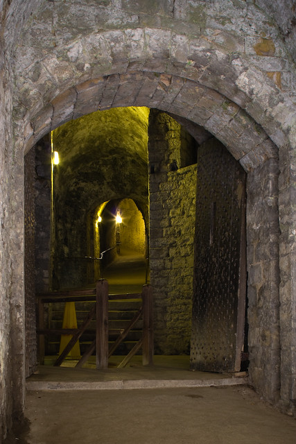 Dover Castle Medieval Tunnel | Flickr - Photo Sharing!