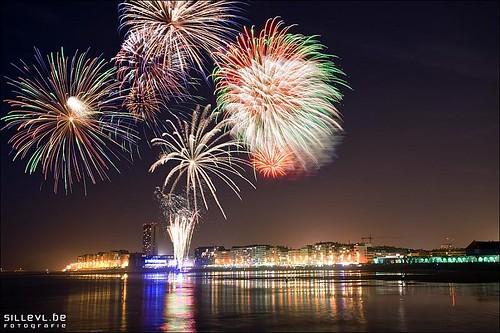 Fireworks Oostende 21  Juli