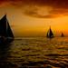 of sailboats & sunsets by MalNino