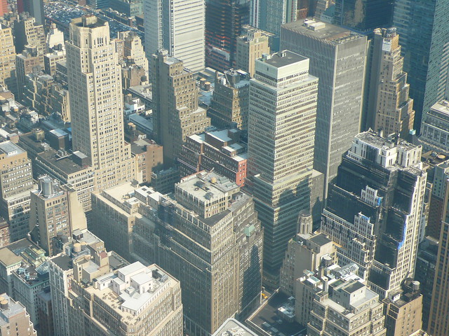 New york city from the 102nd floor empire state building for 102nd floor of the empire state building